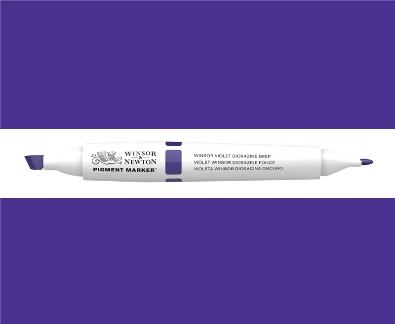 W&N Pigment marker Winsor violet dioxazine deep 033