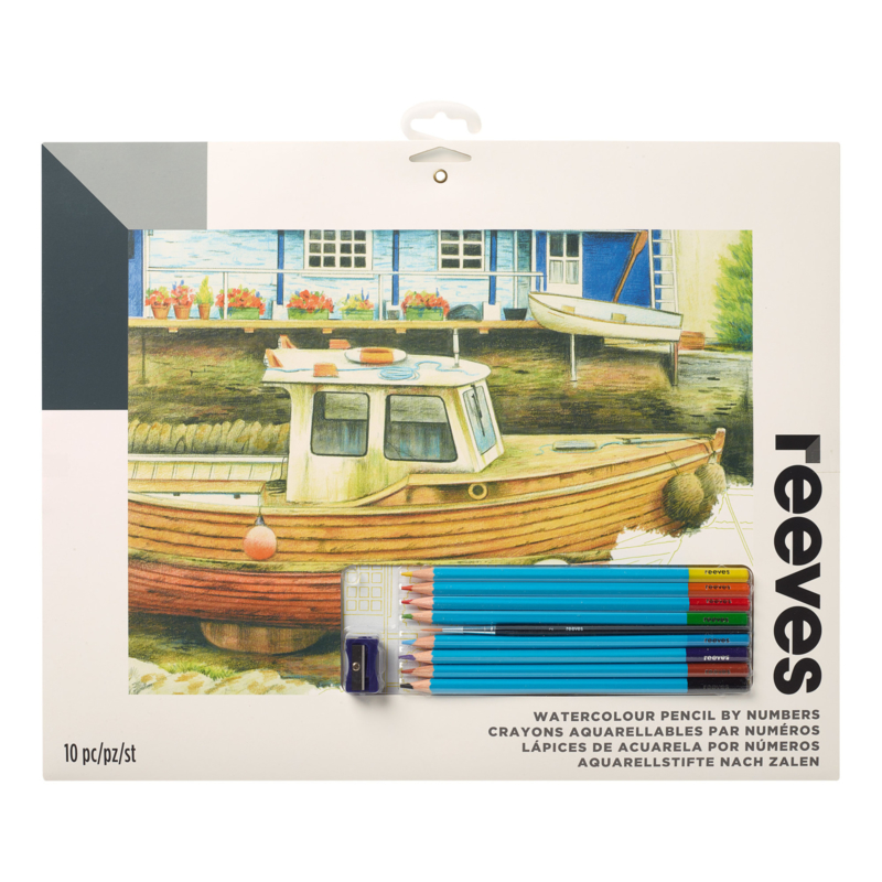 Watercolour PPWP6- large- boot