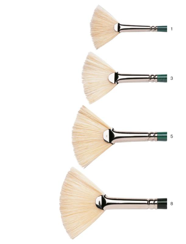 Winton  brush Fan N° 8