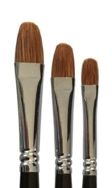 Mus Brush Serie 501 Filbert Weasel number 12