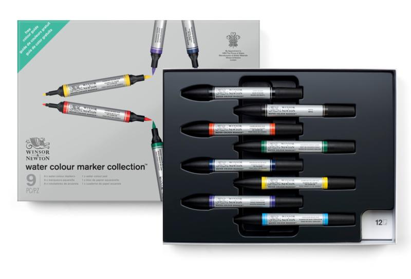 Winsor & Newton Cadeauset Watercolour markers