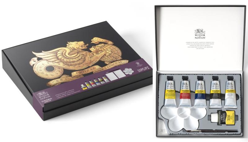 Winsor & Newton Galeria Acrylic luxe gift set