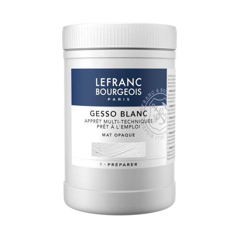 Lefranc & Bourgeois Gesso Wit 500 ml