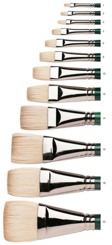 Winton  brush Short  & flat N° 20