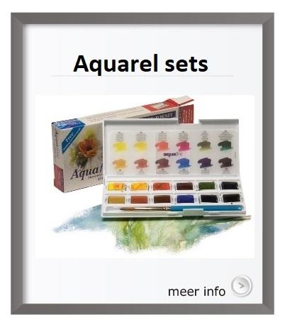 Aquarelsets, koh-I-noor, Winsor en Newton