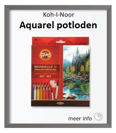 Koh-I-Noor, Aqarelpotloden, Mondeluz