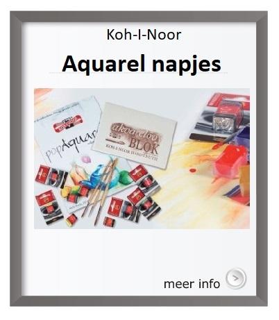 Koh-I-Noor-Aquarelverf, napjes