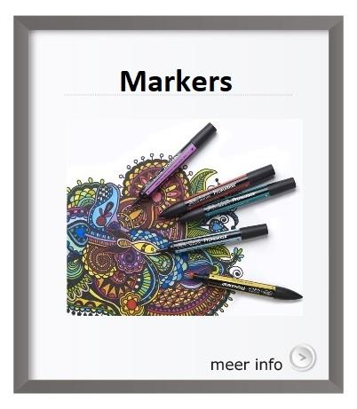 Promarker, Pigmentmarker, Brushmarker, Winsor en Newton
