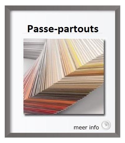 Passe-partouts op maat gemaakt
