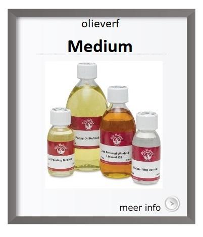 medium voor olieverf