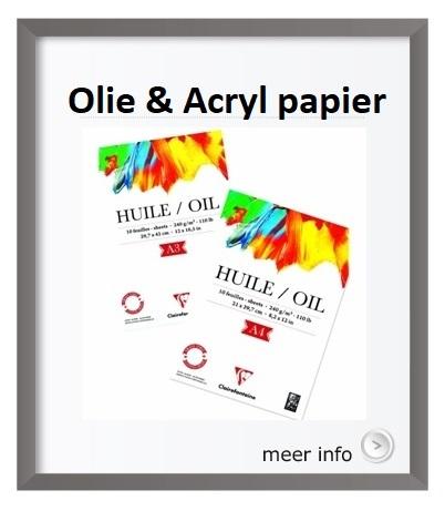 Olieverf papier Acrylverf papier