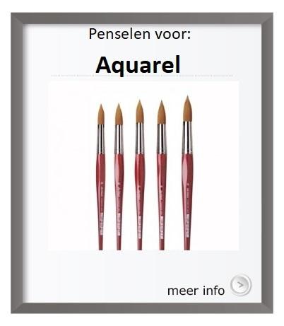 penselen voor aquarel
