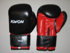 Bokshandschoenen Knocking zwart/rood 16oz