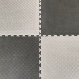Puzzelmatten Grijs/ Donkergrijs 100x100x2cm