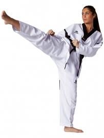 Taekwondopak Revolution Black Mesh WT goedgekeurd