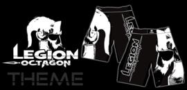 LEGION OCTAGON MMA Shorts Theme