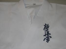 Borduring Kyokushinkai in Japans
