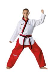 Taekwondopak Poomsae voor meisjes WT goedgekeurd