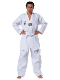 Taekwondopak Starfighter witte V-hals