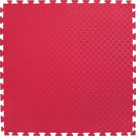 Puzzelmatten Rood / Blauw 100x100x2cm