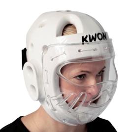 Hoofdbeschermer met masker