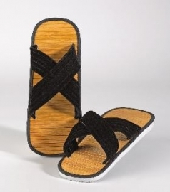 Bamboe slippers