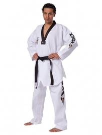 Taekwondopak Starfighter zwarte V-hals