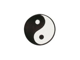 Opnaai embleem Yin Yang 9cm