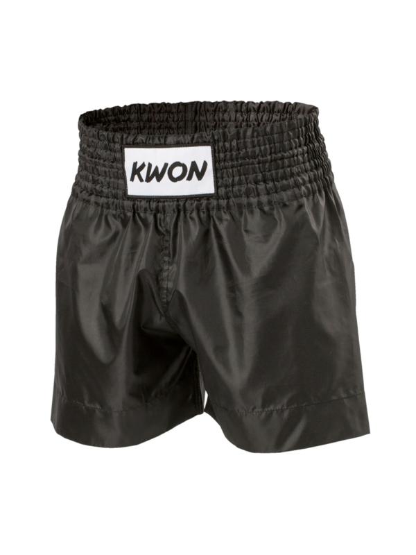 Thai- Kick- Boxing short zwart