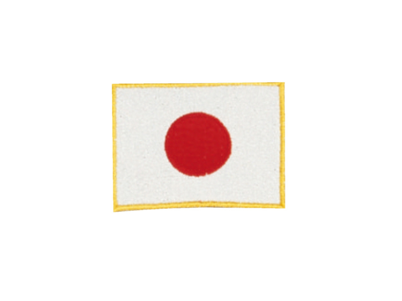 Opnaai embleem Japan 8x6cm