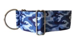 Halfslip Martingales  - camouflage blauw