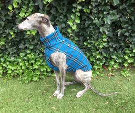 Fleece hemdjes voor reu of teef - ruit blauw