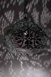 Filigrain hanglamp zilver