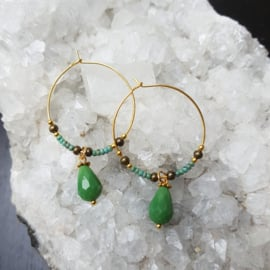 Creolen-goud-jade