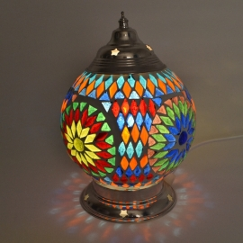Mozaieklamp multi-colour Ø 15