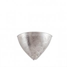 Wandlamp Zenza filigrain Fan