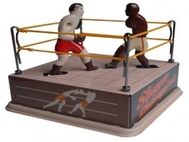Boksers in ring ``Slugger champions``