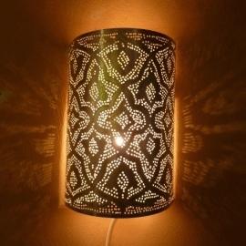 Wandlamp Filigrain zilver Medium