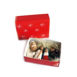Kerstgroep los in luciferdoosje
