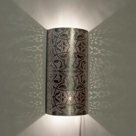 Wandlamp Vintage Zilver