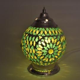 Mozaieklamp groen Ø 15