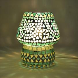 Mozaïeklampje Paddenstoel Groen