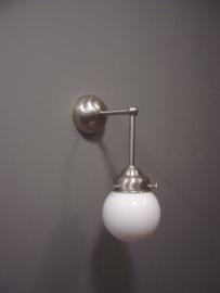 Wandlamp haaks + Bol