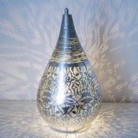 Filigrainlamp Zilver Large