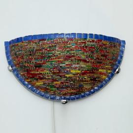 Wandlamp mozaiek  Bangles