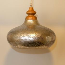 Hanglamp filigrain zilver/zilver