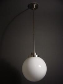 Hanglamp Bol strak opaal Ø 15 t/m 50