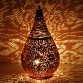 Oosterse filigrain tafellampen