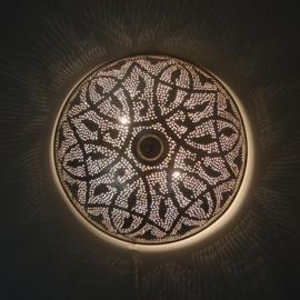 Filigrain plafondlamp Oosters patroon  Ø 30