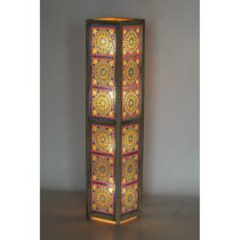Vloerlamp mozaïek multi colour 120 x 25 cm
